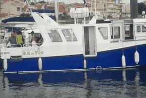 Miniature bus de mer Arcachon