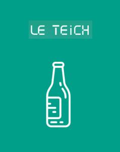 Bouton borne à verre Le Teich