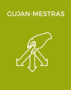 Bouton déchèterie Gujan-Mestras