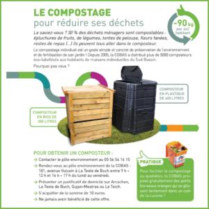 Flyer information compost