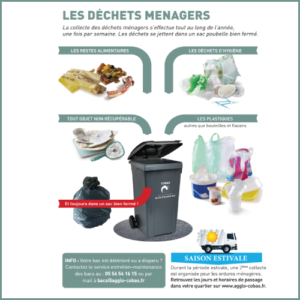 Flyer information tri des déchets ménagers