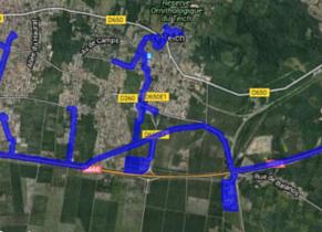 Cartographie réseaux haut débit Le Teich
