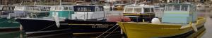 Bateaux amarrés au Port