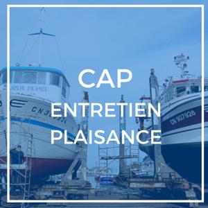 Bouton CAP Entretien Plaisance