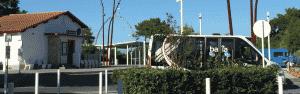 Bus Baia à la Gare La Hume Gujan-Mestras