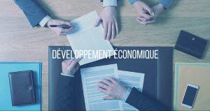 Bouton développement économique