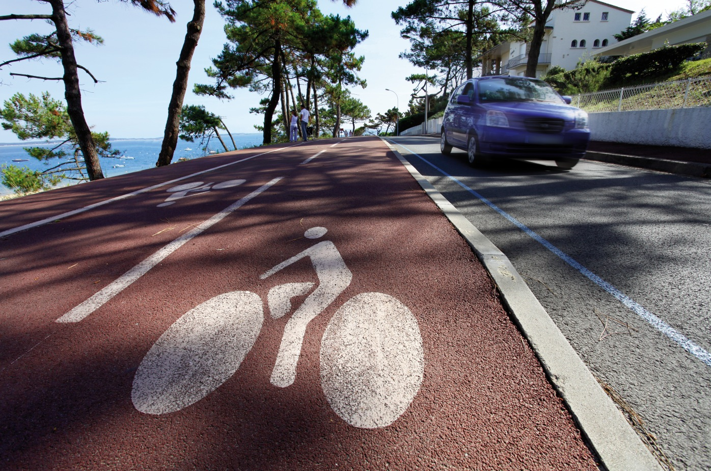 Picte cyclable Arcachon