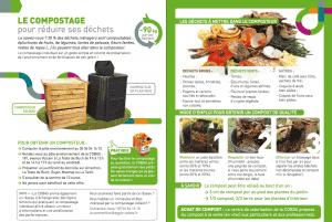 Flyer informatif sur le compostage