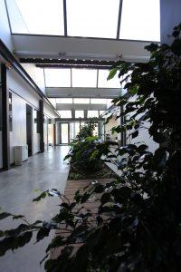 Photo intérieur locaux pépinière d'entreprises COBAS