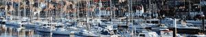 Port d'Arcachon avec bateaux
