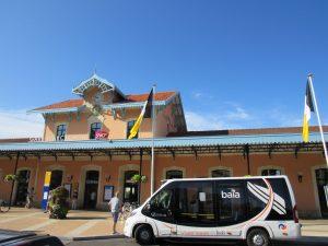 Gare d'Arcachon avec bus Baia