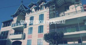 Bouton équilibre social de l'habitat