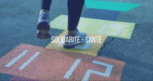 Bouton solidarité - santé