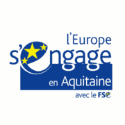 Logo L'Europe s'engage en Aquitaine