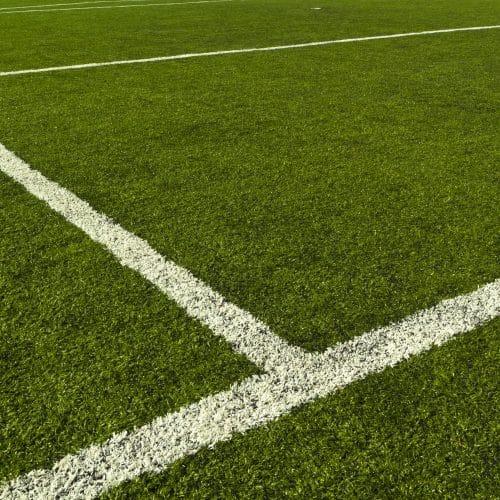 Ligne de terrain de football